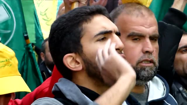 jordan muslim brotherhood members held a demonstration on friday against israeli violations regarding the al aqsa mosque compound in east jerusalem - compounding stock videos and b-roll footage