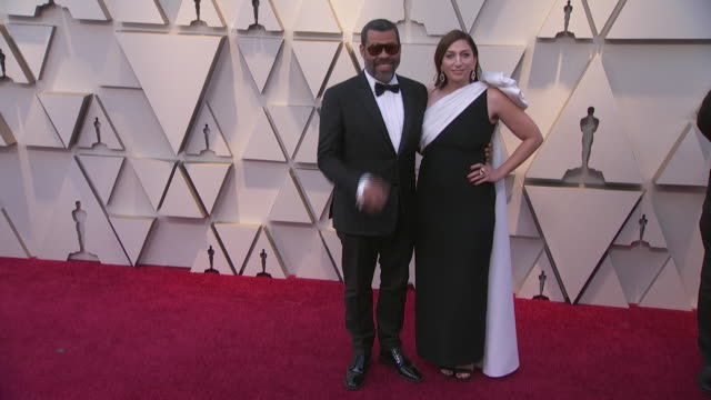 jordan peele walking the red carpet at the 91st annual academy awards at the dolby theater in los angeles, california. - music or celebrities or fashion or film industry or film premiere or youth culture or novelty item or vacations 個影片檔及 b 捲影像