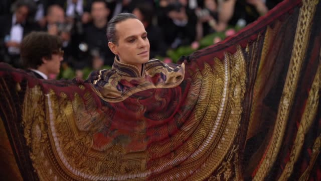 Jordan Roth at The 2019 Met Gala Celebrating Camp Notes on Fashion Arrivals at Metropolitan Museum of Art on May 06 2019 in New York City