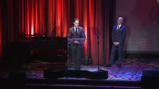 speech jordan roth speaks at the trevor project's trevorlive new york at marriott marquis hotel on june 13 2016 in new york city - marriott marquis new york stock videos & royalty-free footage