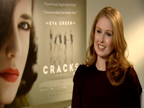 Jordan Scott on Eva Green on how she told Eva to stay away from the girls so she could retain the mystery of her character at the Cracks Interviews...