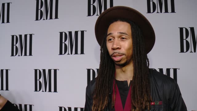 jordan ware on what it means to receive this recognition from bmi, the most rewarding part of songwriting, his advice for aspiring songwriters and... - songwriter stock videos & royalty-free footage