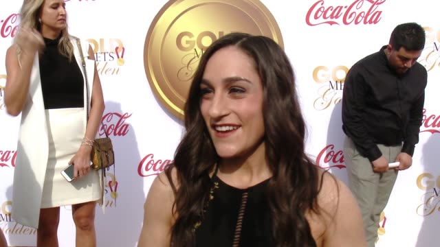 INTERVIEW Jordan Wieber on being excited for Gold Meets Golden what celebrities she is looking forward to meeting what Golden Globes performances she...