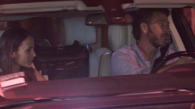 Jordana Brewster Andrew Form departing Craigs in West Hollywood in Celebrity Sightings in Los Angeles