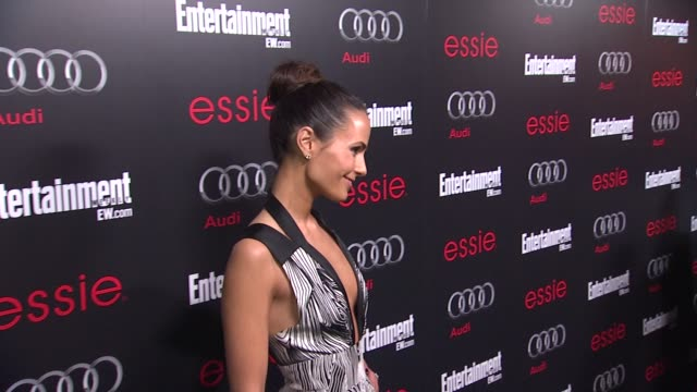 stockvideo's en b-roll-footage met jordana brewster arrives at entertainment weekly hosts celebration honoring the screen actors guild awards¨ nominees on 1/26/13 in los angeles, ca. . - entertainment weekly