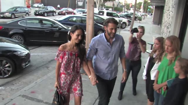 jordana brewster at craig's restaurant in west hollwood at celebrity sightings in los angeles on august 15, 2015 in los angeles, california. - jordana brewster stock videos & royalty-free footage