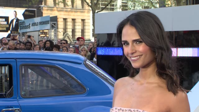 Jordana Brewster at 'Fast And Furious 6' UK Premiere at Empire Leicester Square on May 07 2013 in London England