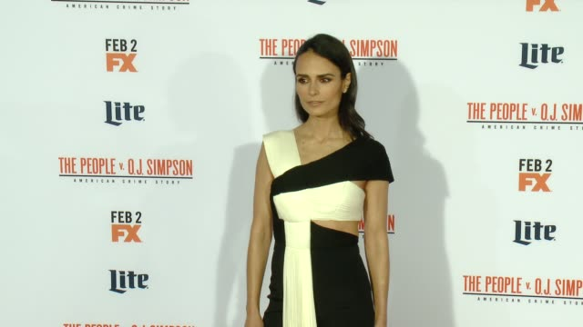 Jordana Brewster at FX's The People v OJ Simpson American Crime Story Premiere at Westwood Village Theatre on January 27 2016 in Westwood California