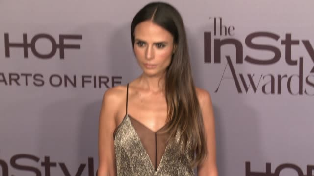 "jordana brewster at instyle presents second annual ""instyle awards"" in los angeles, ca 10/24/16 - jordana brewster stock videos & royalty-free footage"