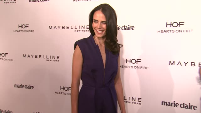 jordana brewster at marie claire celebrates may cover stars in los angeles, ca 4/8/14 - jordana brewster stock videos & royalty-free footage