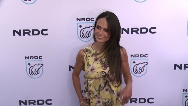 jordana brewster at nrdc stand up! for the planet 2017 in los angeles, ca 4/25/17 - jordana brewster stock videos & royalty-free footage
