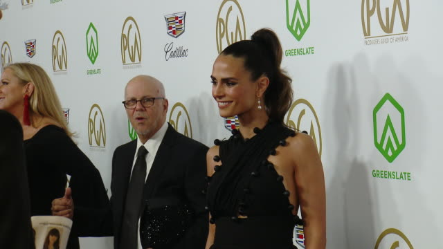 jordana brewster at the 2019 producers guild awards presented by cadillac at the beverly hilton hotel on january 19, 2019 in beverly hills,... - jordana brewster stock videos & royalty-free footage