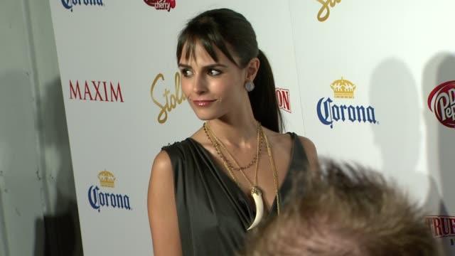Jordana Brewster at the Maxim Hot 100 2009 at Santa Monica CA