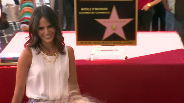 jordana brewster at vin diesel honored with star on the hollywood walk of fame jordana brewster at vin diesel honored with star o at hollywood walk... - vin diesel stock videos and b-roll footage