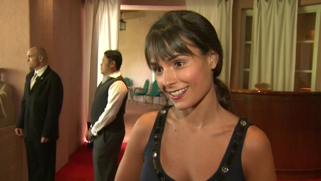 jordana brewster on being a part of the afternoon, what she's presenting, how she learned about the organization, and how important art and film... - jordana brewster stock videos & royalty-free footage