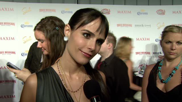 Jordana Brewster on being on the list on what makes someone hot on who she liked seeing on the list on the party and on Maxim Hot 100's 10th birthday...