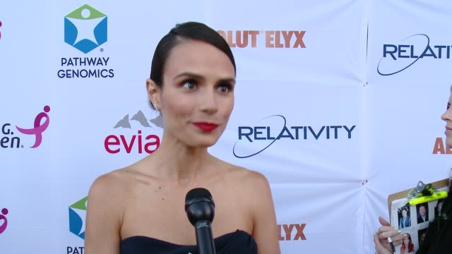 Jordana Brewster on supporting the cause on how cancer has impacted her and on her work at Pathway To The Cure For Breast Cancer A Fundraiser...