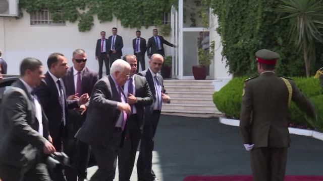Jordan's King Abdullah II and President Mahmud Abbas discussed various topics in Ramallah on Monday including shared tensions with Israel over a...