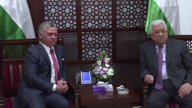 Jordan's King Abdullah II began a rare visit to the occupied West Bank to meet Palestinian president Mahmud Abbas on Monday amid shared tensions with...