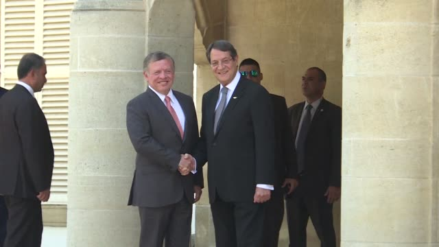 Jordan's King Abdullah II visited Cyprus on Thursday meeting with Cypriot President Nicos Anastasiades to discuss regional issues and energy and...