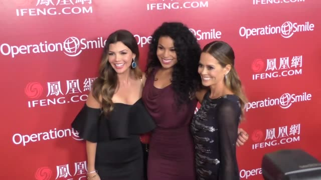 Jordin Sparks Ali Landry and Brooke BurkeCharvet at Operation Smile's Los Angeles Smile Gala at the Beverly Wilshire Beverly Hills at Operation...