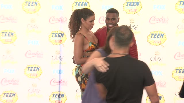 jordin sparks and jason derulo at the teen choice awards 2014 at the shrine auditorium on august 10 2014 in los angeles california - shrine auditorium stock videos and b-roll footage