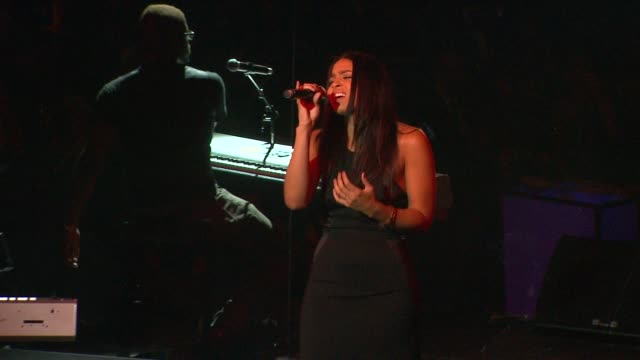 jordin sparks at city of hope honors halston ceo ben malka with spirit of life award on in los angeles ca - halston stock videos & royalty-free footage