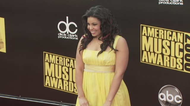 jordin sparks at the 2008 american music awards at los angeles ca. - sparks点の映像素材/bロール