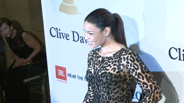 jordin sparks at the pregrammy gala and salute to industry icons honoring martin bandier at the beverly hilton hotel on february 07 2015 in beverly... - the beverly hilton hotel stock videos & royalty-free footage