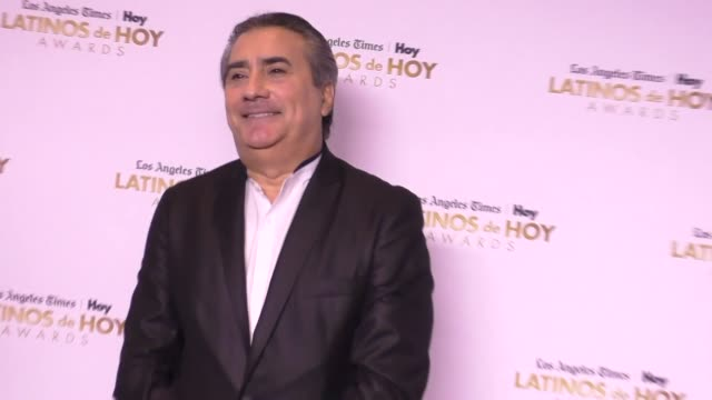 jorge quinn at the 2016 latinos de hoy awards at dolby theatre in hollywood on october 09 2016 in hollywood california - the dolby theatre stock videos & royalty-free footage
