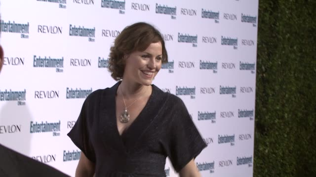 jorja fox at the entertainment weekly 6th annual pre-emmy party at los angeles ca. - エンターテインメント・ウィークリー点の映像素材/bロール
