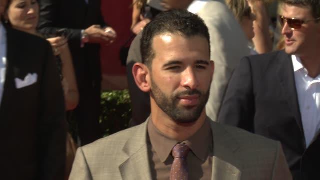 vidéos et rushes de jose bautista at 2012 espy awards on 7/11/2012 in los angeles, ca. - espy awards
