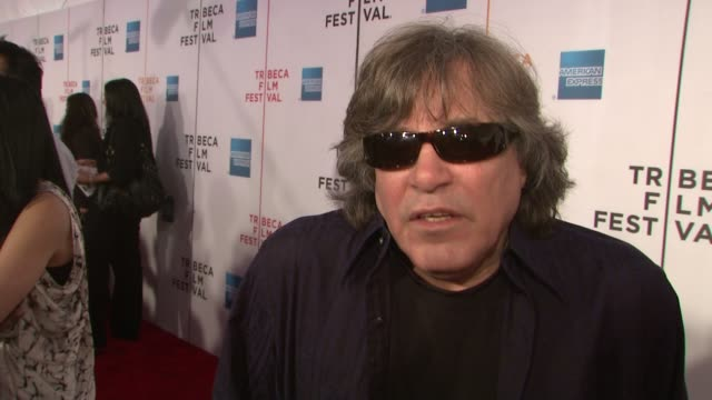 """jose feliciano talks about what brings him out tonight, the estafans, and what makes them so influential in the world of entertainment at the """"90... - jose feliciano stock videos & royalty-free footage"""