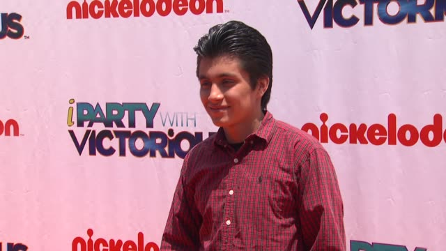 Jose Julian at the Nickelodeon's 'iParty With Victorious' Premiere at West Hollywood CA
