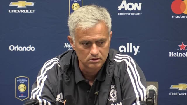 Jose Mourinho has downplayed the firstever Manchester derby on foreign soil as a 'competitive training session' as United prepare to face City in...