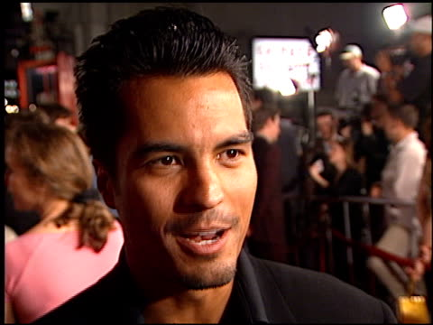 jose solano at the 'book of shadows blair witch 2' premiere at grauman's chinese theatre in hollywood california on october 23 2000 - book of shadows: blair witch 2 stock videos & royalty-free footage
