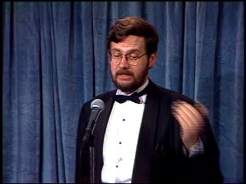 Joseph Dougherty at the 1989 Emmy Awards Backstage at the Pasadena Civic Auditorium in Pasadena California on September 17 1989