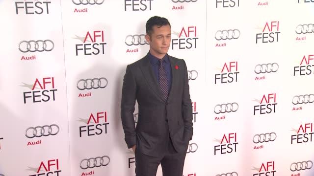 joseph gordonlevitt at afi fest 2012 closing night gala world premiere of lincoln on 11/8/2012 in hollywood ca - 映画 リンカーン点の映像素材/bロール