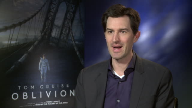 interview joseph kosinski on the soundtrack and the importance of it how soundtracks are a lost art his favorite soundtracks at 'oblivion' interviews... - soundtrack stock videos & royalty-free footage