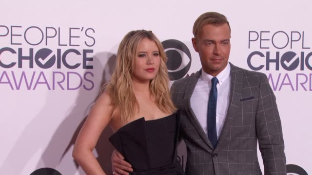 Joseph Lawrence Taylor Spreitler at People's Choice Awards 2015 in Los Angeles CA