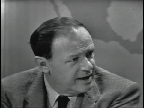 mcu joseph mankiewicz director of the 1963 film cleopatra discusses an audience's patience with watching a movie sot i think it's physiologicallyif i... - cleopatra stock videos & royalty-free footage