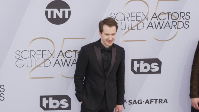 Joseph Mazzello at 25th Annual Screen Actors Guild Awards at The Shrine Auditorium on January 27 2019 in Los Angeles California