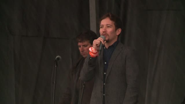 WGN Joseph Morales the Alexander Hamilton alternate for the Chicago production of Hamilton spoke at the annual AIDS Run Walk fundraising event in...