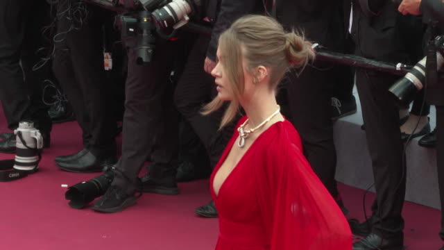 Josephine Skriver at 'La Belle Epoque' Red Carpet Arrivals The 72nd Cannes Film Festival at Palais des Festivals on May 20 2019 in Cannes France