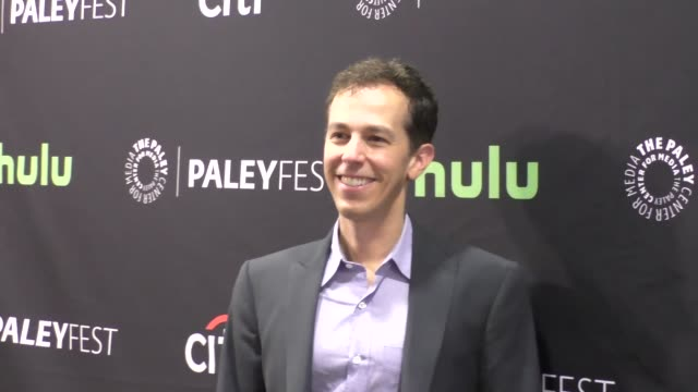 josh berman at the paley center for media's paleyfest 2016 fall tv preview - abc at celebrity sightings in los angeles on september 10, 2016 in los... - paley center for media los angeles stock videos & royalty-free footage