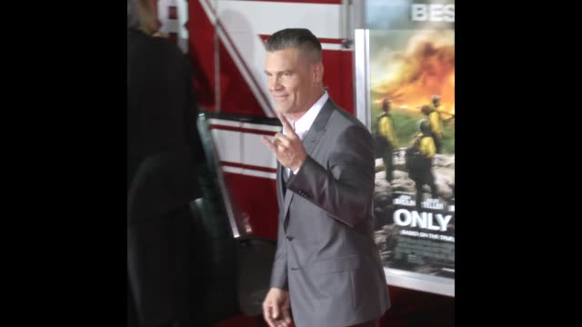 gif josh brolin at the 'only the brave' premiere - only the brave 2017 film stock videos & royalty-free footage