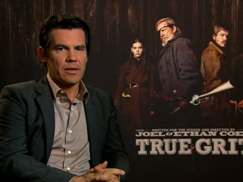 josh brolin on directing his first film due out next year at the true grit interviews: 61st berlin international film festival at berlin . - directing stock videos & royalty-free footage