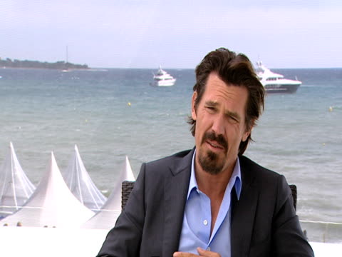 josh brolin on how he doesn't think oliver stone perceives him to be a nasty person based on the characters he cast him in 'w' and wall st, on his... - other stock videos & royalty-free footage