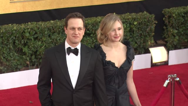 josh charles at the 17th annual screen actors guild awards arrivals part 2 at los angeles ca - josh charles stock videos and b-roll footage