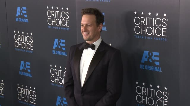 josh charles at the 2015 critics' choice television awards at the beverly hilton hotel on may 31 2015 in beverly hills california - josh charles stock videos and b-roll footage